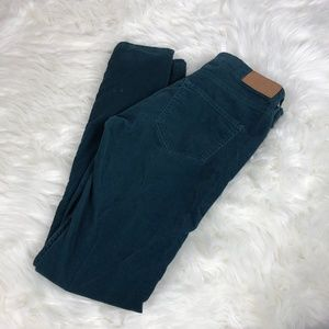 Divided H&M Red Concept Soft Green Velour/Velvet